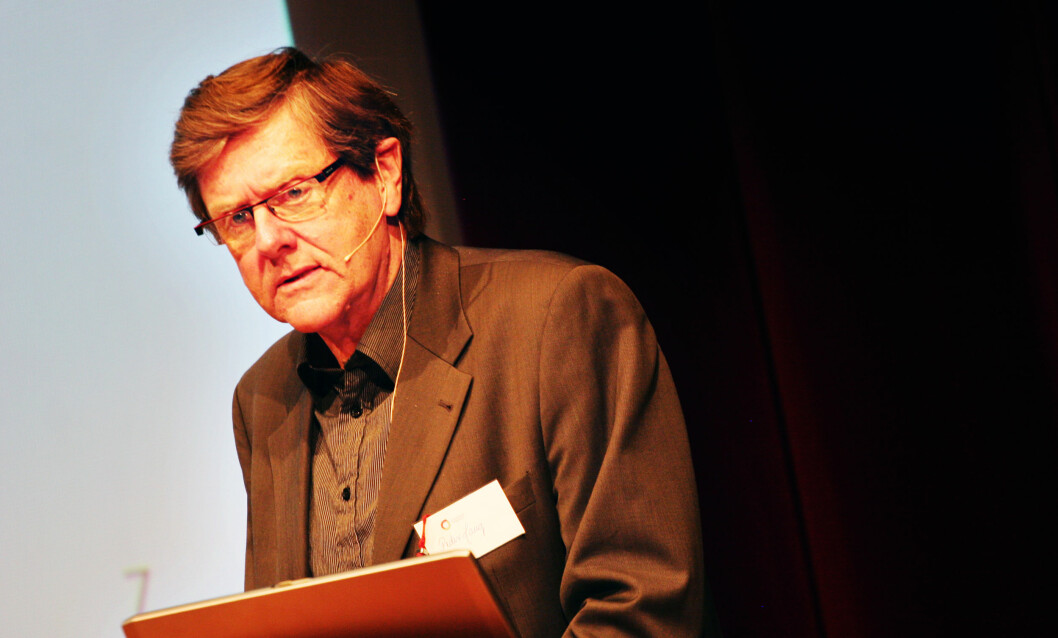 Professor Peder Haug.