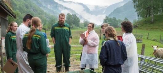I Sogn aler de opp agronomer i økologisk landbruk