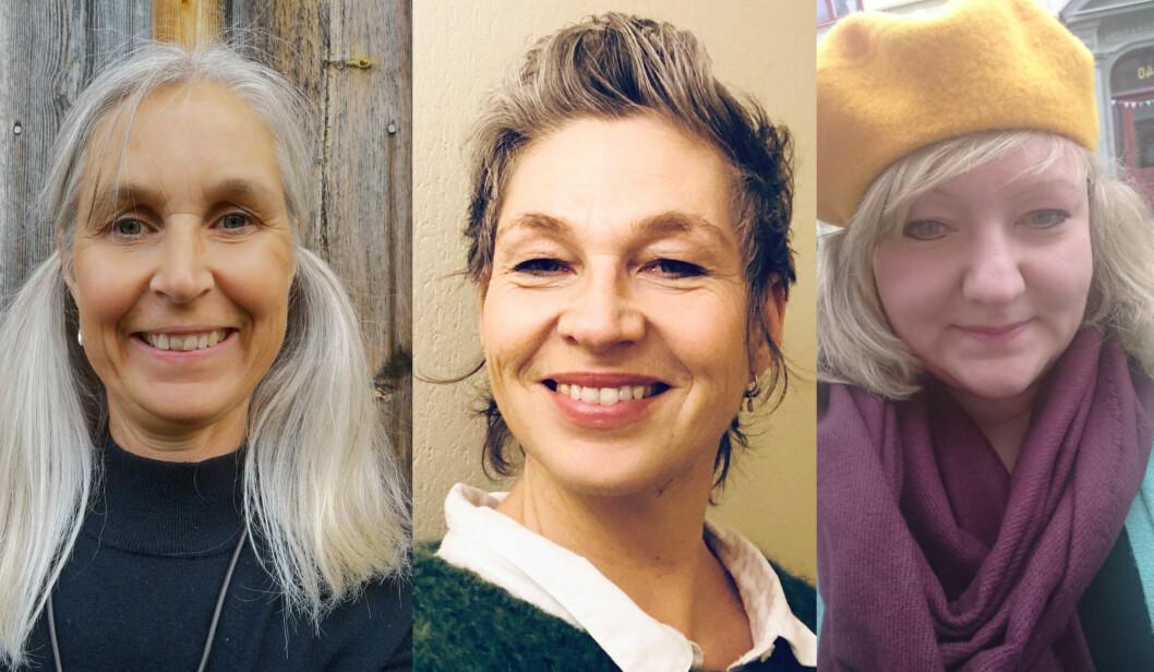 F.v: Astrid Helgerud, Ellen Roberg-Askim og Silje Ølstørn