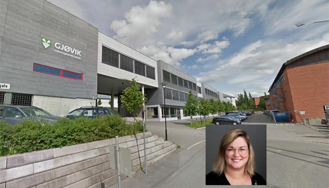 Anne-Marte Kolbjørnshus reagerte sterkt på frafallstallene på videregående skoler i Gjøvik-regionen.