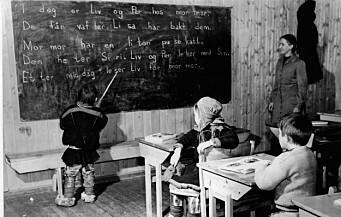 Slik var det på internatskolen i Karasjok i etterkrigstiden