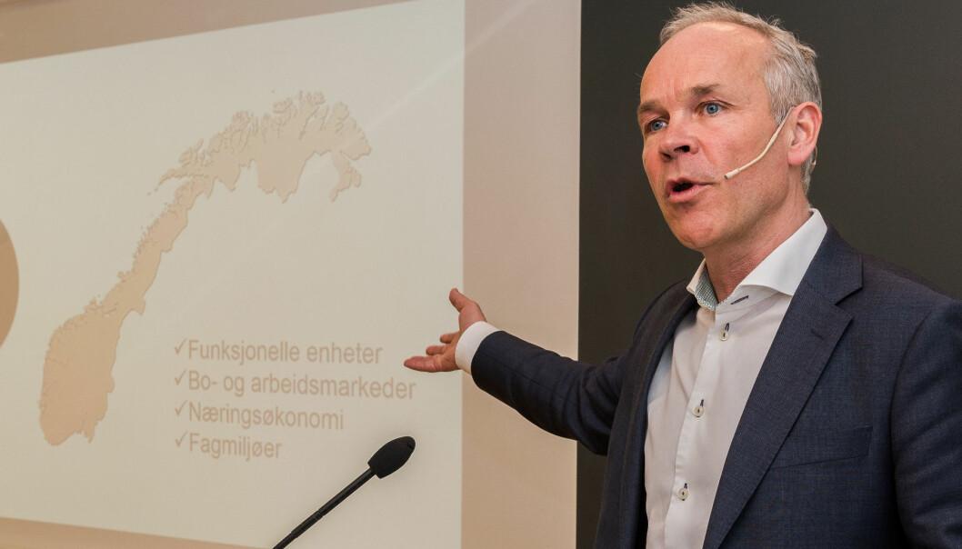 Kunnskapsminister Jan Tore Sanner.