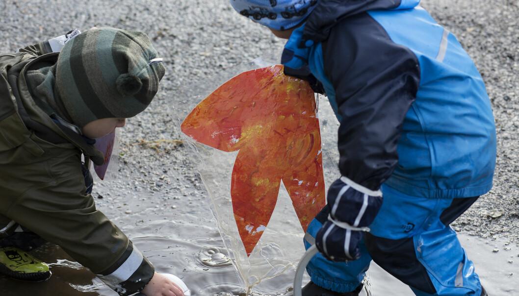 Større betydning: Barnehager kan knytte lokalmiljøene tettere sammen, mener byråd i Bergen.