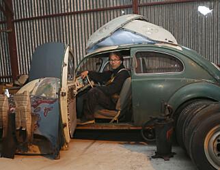 Geir Inge fikser gamle biler