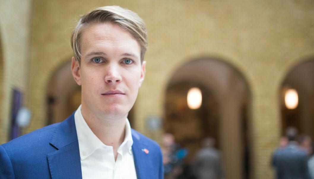 Torstein Tvedt Solberg (Ap).