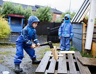 Risikofylt lek gir lavere konfliktnivå, mer lekeglede og engasjerte voksne