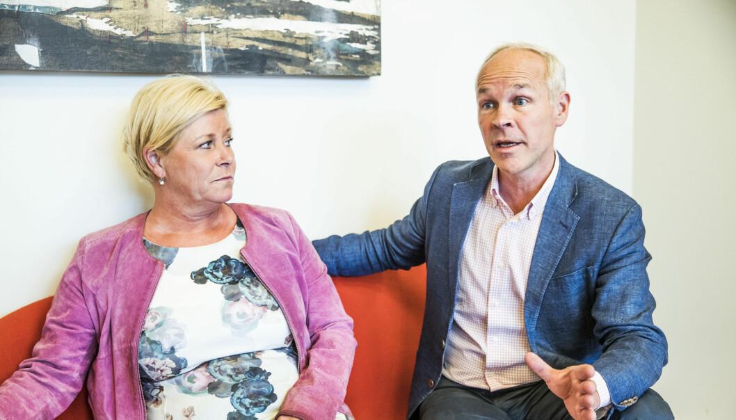 Mange trur at kunnskapsminister Jan Tore Sanner blir ny finansminister etter Siv Jensen.