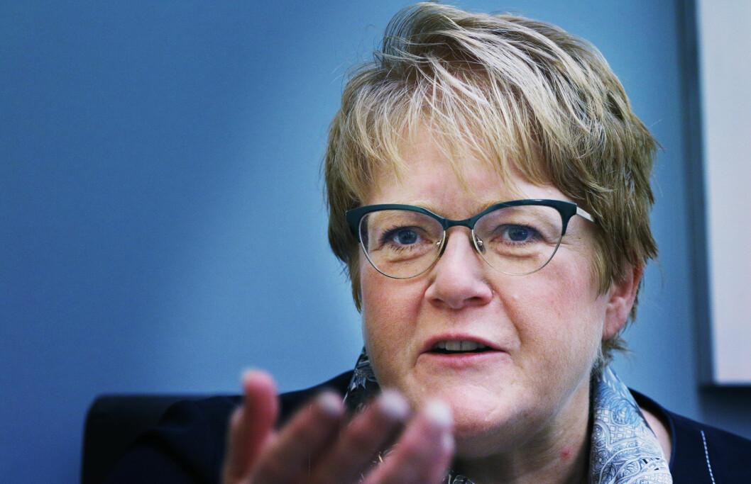 Trine Skei Grande (V) er landets nye kunnskapsminister.