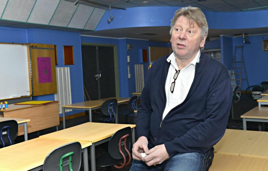 Skolesjef Vidar Larsen sier det ikke har vært bruk for noen styringsrett overfor lærere i Harstad.
