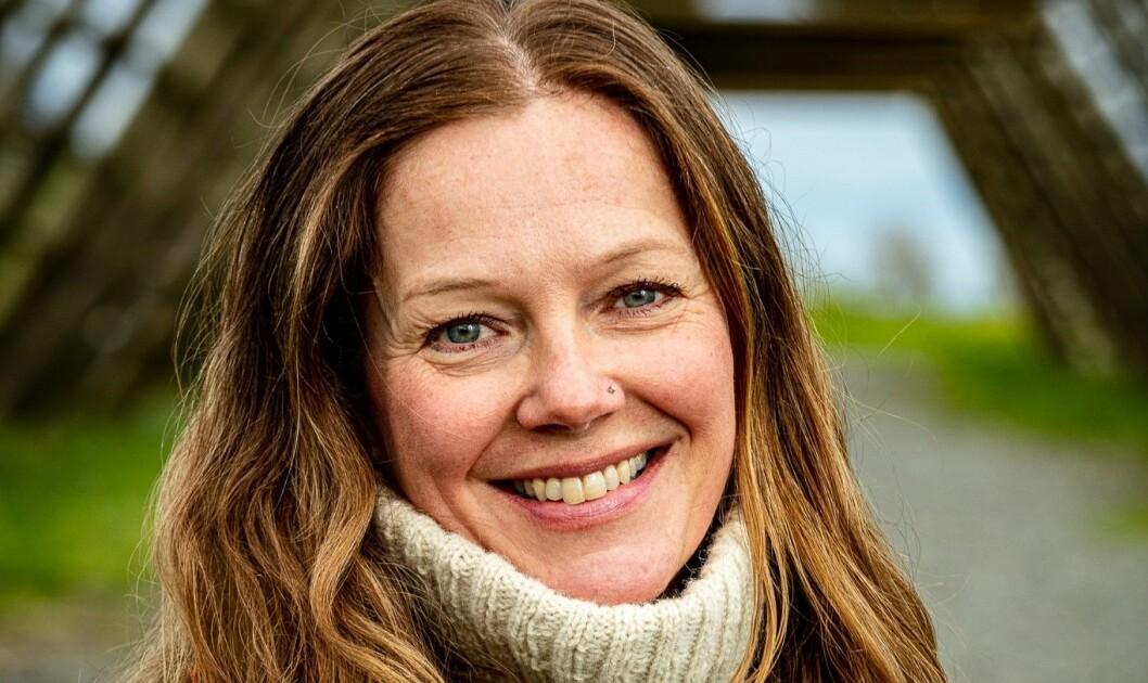 Ny statssekretær i Kunnskapsdepartementet, Anja Johansen (V). Foto: Espen Mortensen.