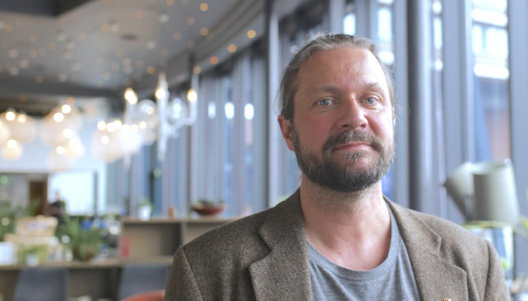 Thomas Nordgård, leder i Utdanningsforbundet Troms.