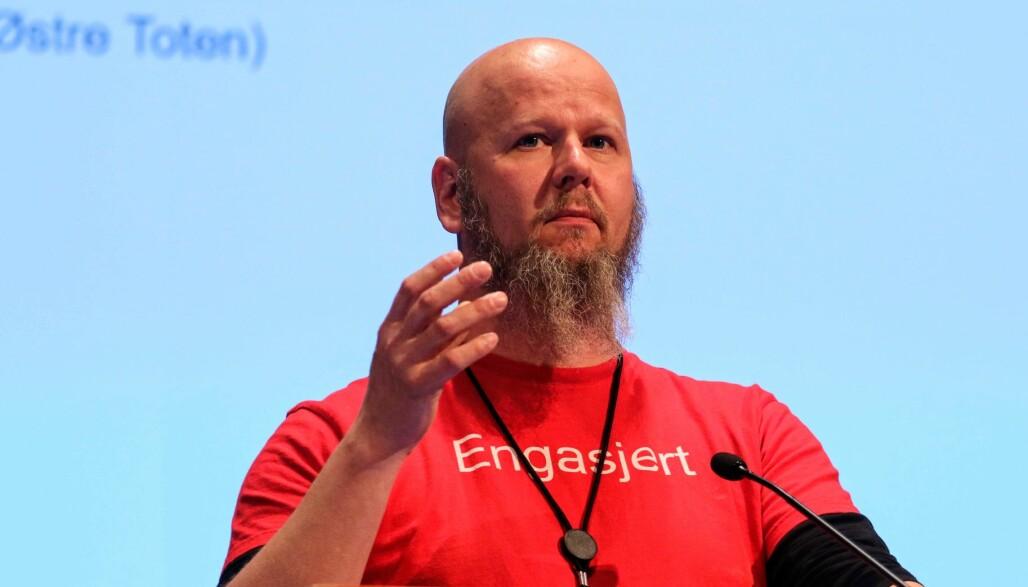 Nestleder i UDF Innlandet Thore Johan Nærbøe. (Foto: Jørgen Jelstad