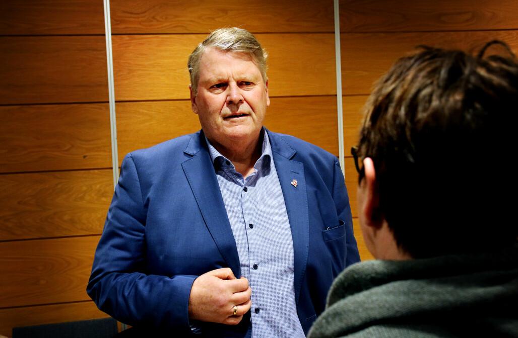 Stortingsrepresentant Hans-Fredrik Grøvan sier regjeringen ikke har konkludert.