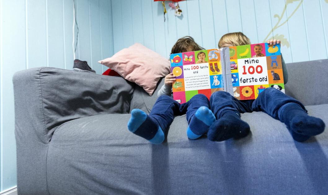 Kommunen vil få ansvar for at det settes inn tiltak for de barna som trenger ekstra språkstøtte. Foto: Gorm Kallestad / NTB scanpix