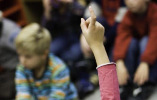 – Å rekke opp hånda er en tragisk ineffektiv tradisjon