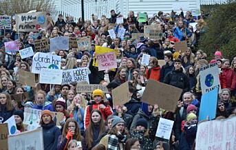 Elever varsler ny skolestreik for klimaet – Frp krever svar fra Grande om fravær