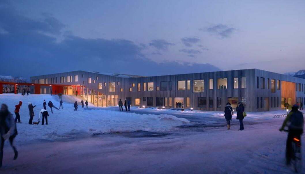 Sommerlyst skole i Tromsø.