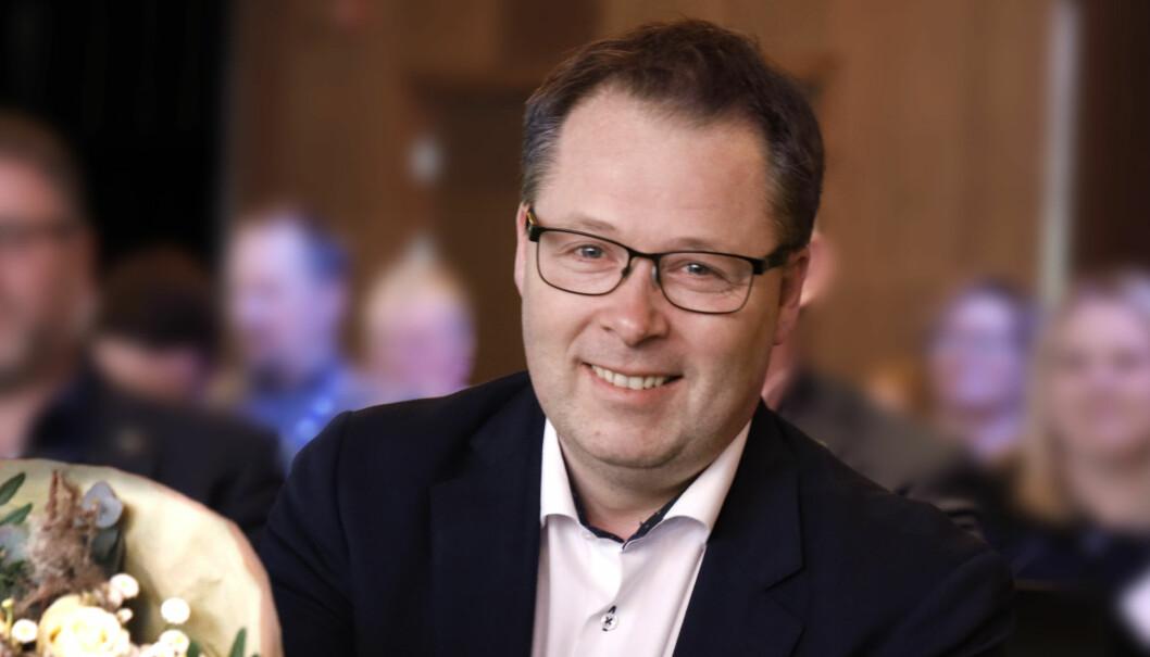 Ordførar i Steinkjer, Bjørn Arild Gram, er ny leiar i KS.