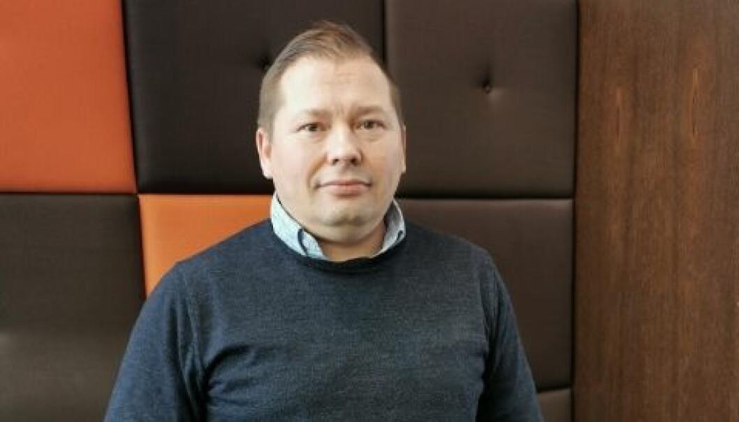 Lokallagsleder i UDF, Rune Bakkejord.