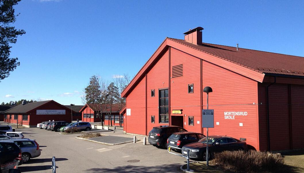 Mortensrud skole