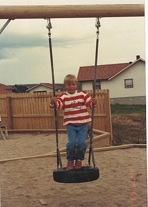 Barnehagegutt: Fred lærte å bruke kniv i barnehagen som treåring, og det hendte de kjørte med slede og reinsdyr.