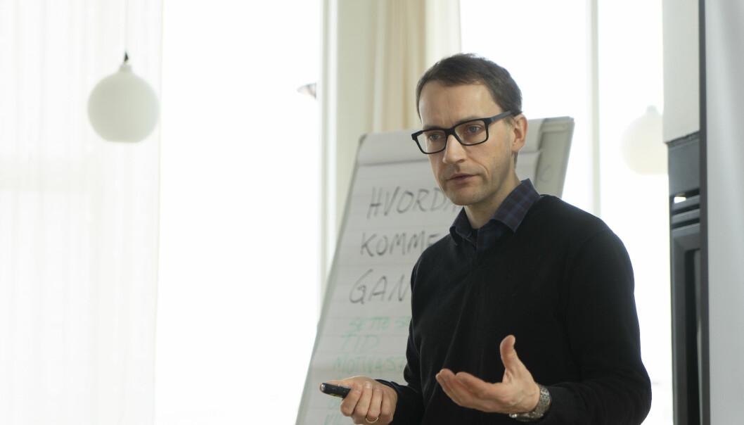 Bjarne Stenersen er daglig leder i Ibid. Foto: Martin Bendiksen.