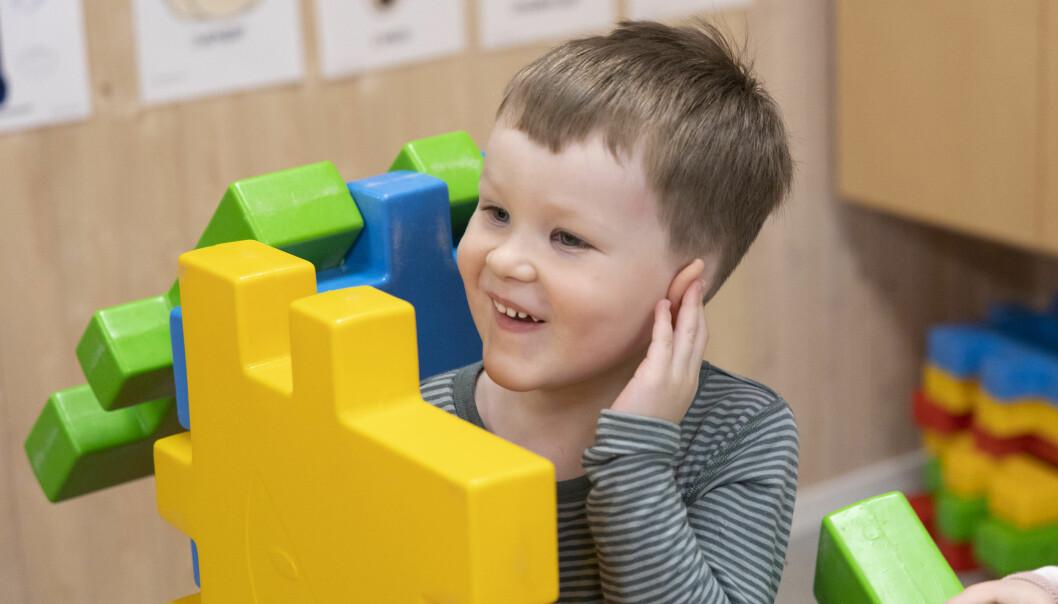 Johannes har vært til 4-årskontroll i barnehagen.