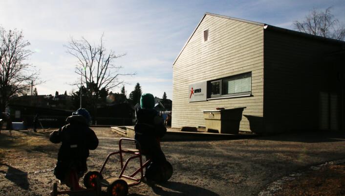 Myrer Kanvas-barnehage. Foto: Jørgen Jelstad.