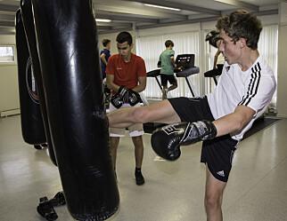 Ved Nidaros idrettsungdomsskole har de fysisk aktivitet på timeplanen hver dag