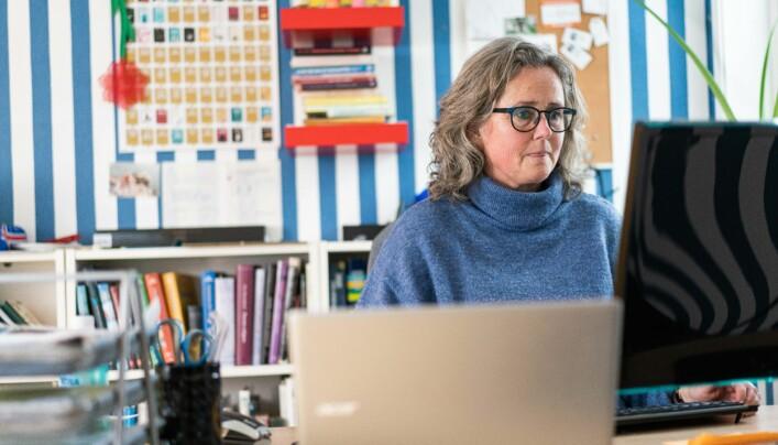 Ideer til petitene henter Hilde Eskild fra skolehverdagen. – Hverdagen er gull! Der oppstår fortellingene, sier hun.