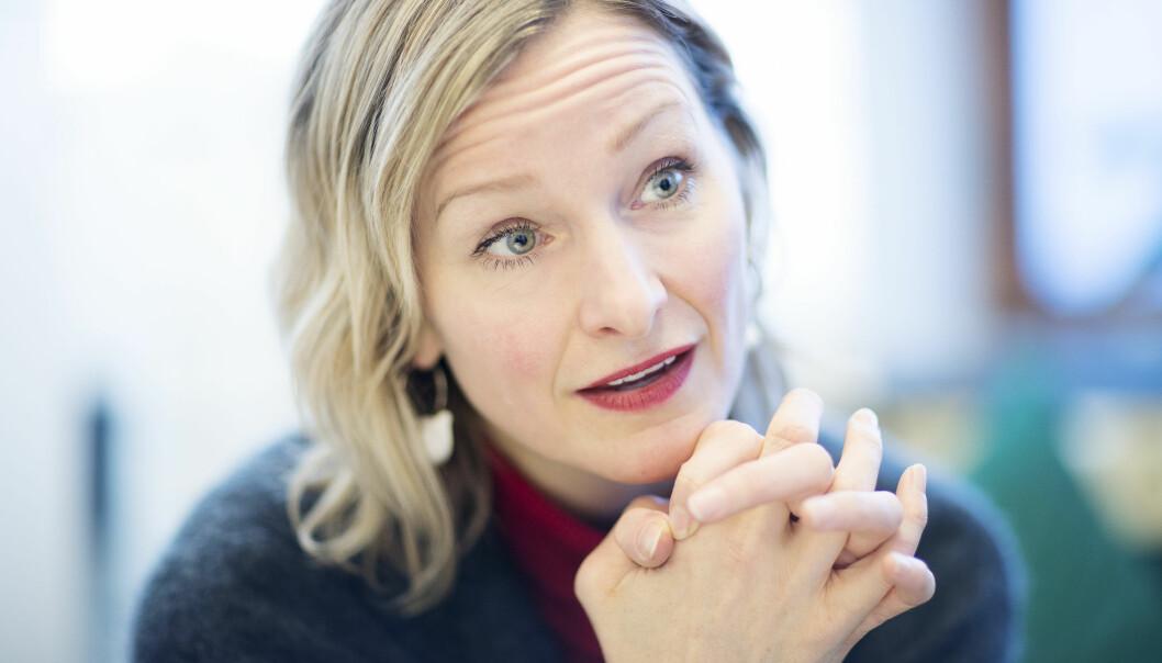 – Skole er et offentlig ansvar. Ingen skal være prisgitt rike foreldre for å få et godt skoletilbud, sier Inga Marte Thorkildsen.