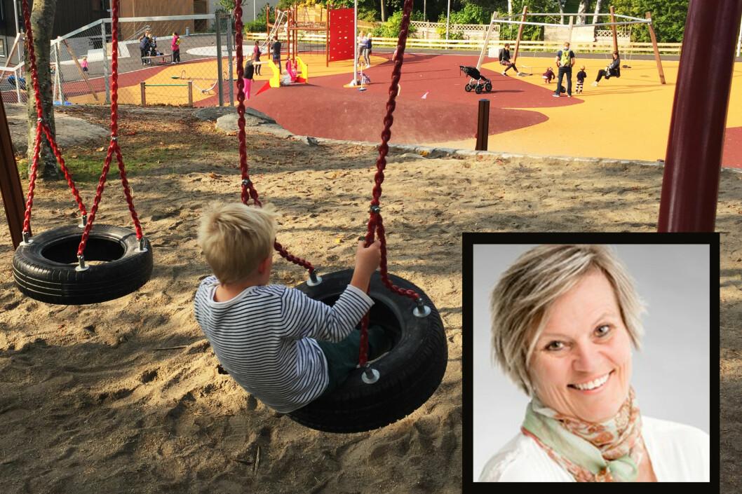 Kristin Voldsnes i Norlandia ønsker en gjennomgang av kapitaltilskuddet. Foto i montasje: Norlandia og Paal Svendsen.