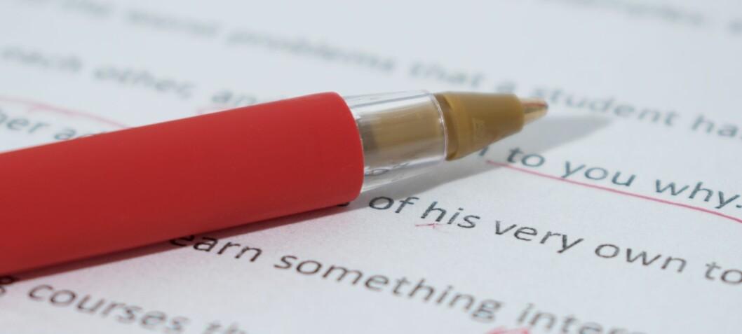Det er manglande samsvar mellom eksamen og læremiddel i engelsk fellesfag