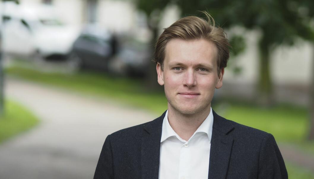 Unge Venstre-leder Sondre Hansmark