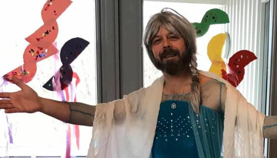 Terje Johansen som Elsa