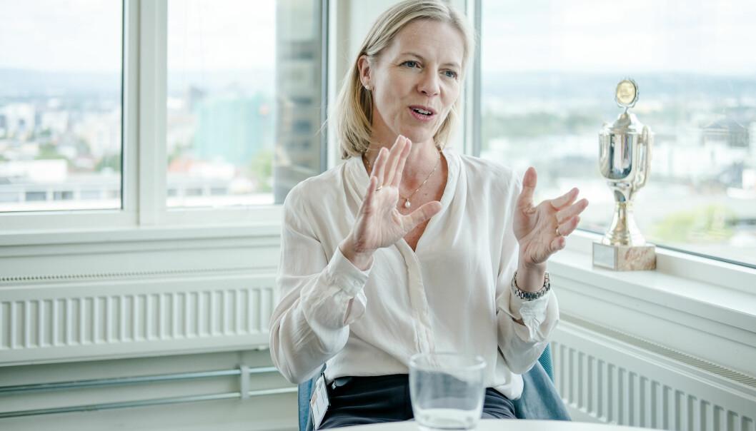 Marte Gerhardsen, Utdanningsdirektør i Oslo.