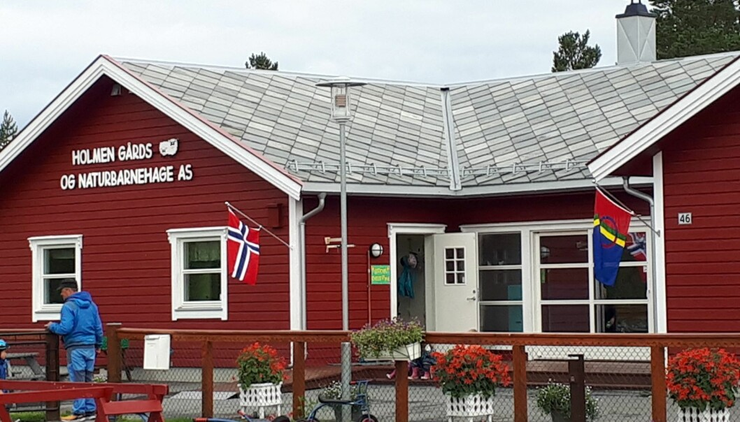 Med støtten fra Sametingsrådet, kan Holmen gårds- og naturbarnehage ansette en samiskspråklig ressurs i 100 prosent stilling.