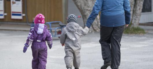 Kjære politikere, ta på alvor svarene i en foreldreundersøkelse dere selv har bedt om