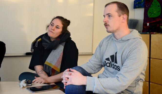 Kristina Kroge og Anders Gusland Hansen.