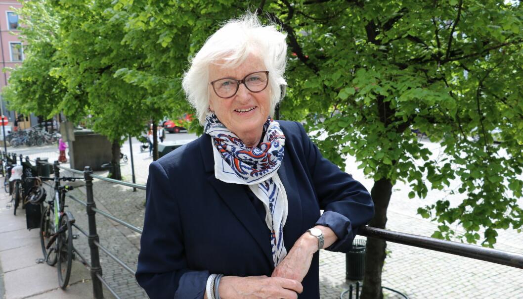 Berit Bae er glad for at over 40 års arbeid i barnehagefeltet blir verdsatt og satt pris på gjennom å tildele henne Ridder 1. klasse av St. Olavs Orden.