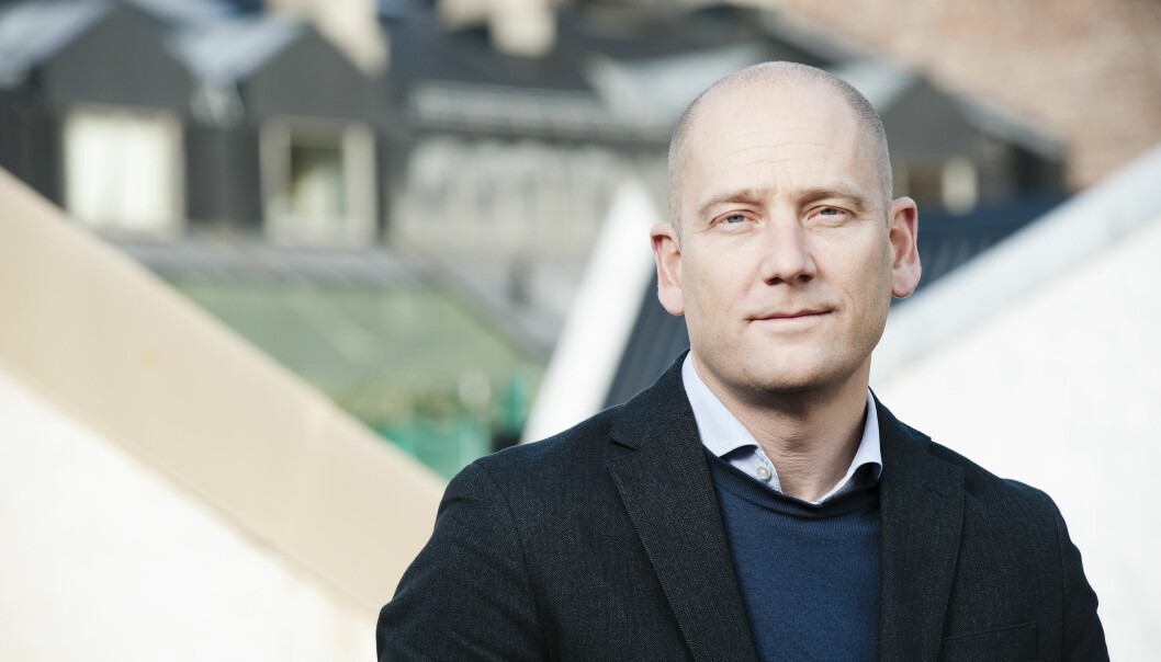 UDF-leder Steffen Handal.