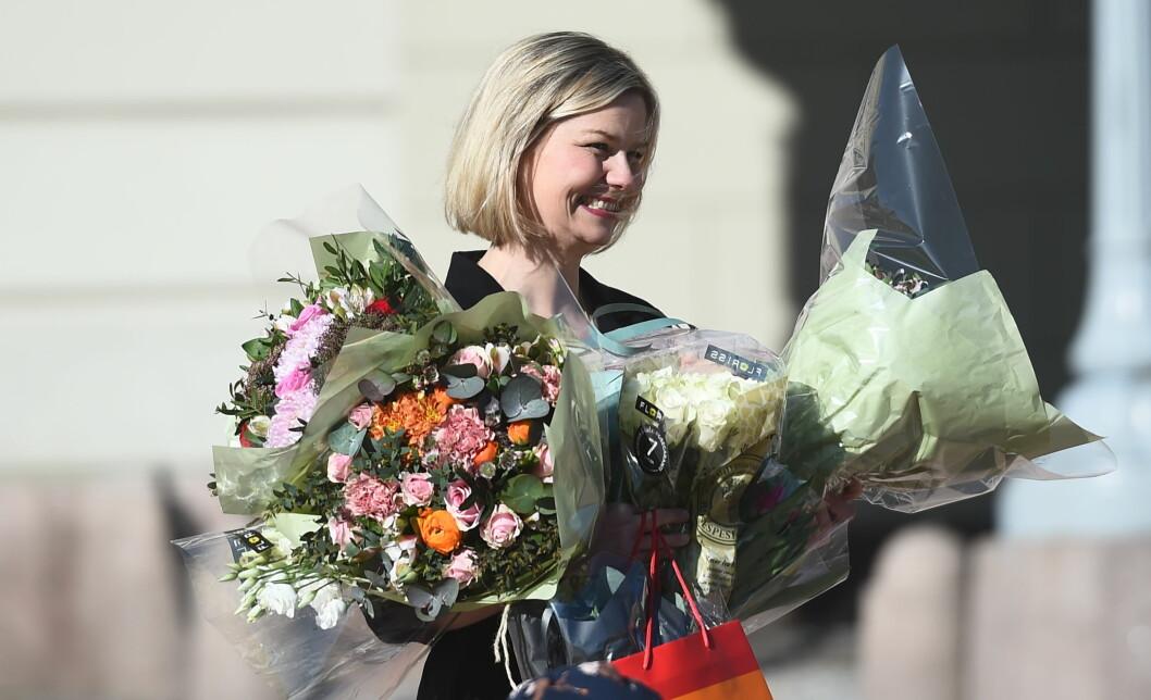 Guri Melby (V) er ny kunnskaps- og integreringsminister