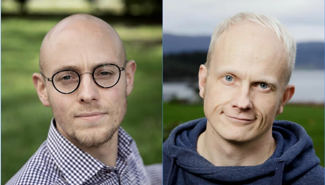 Psykologene Jørgen Flor og Ole Jacob Madsen.