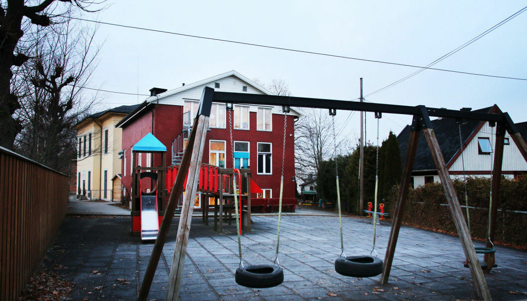 100 meterskogen barnehage AS.