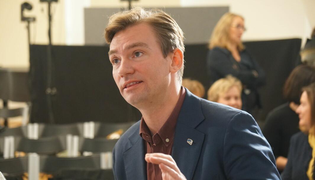 Henrik Asheim er nestleder i Høyres programkomité.