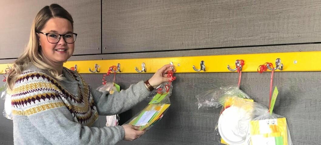 Barnehagen er stengt – laget aktivitetspakker til alle barna