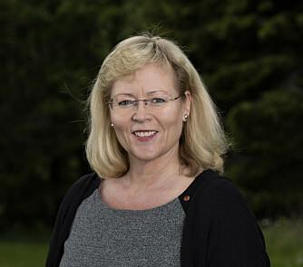 LO-sekretær Trude Tinnlund.