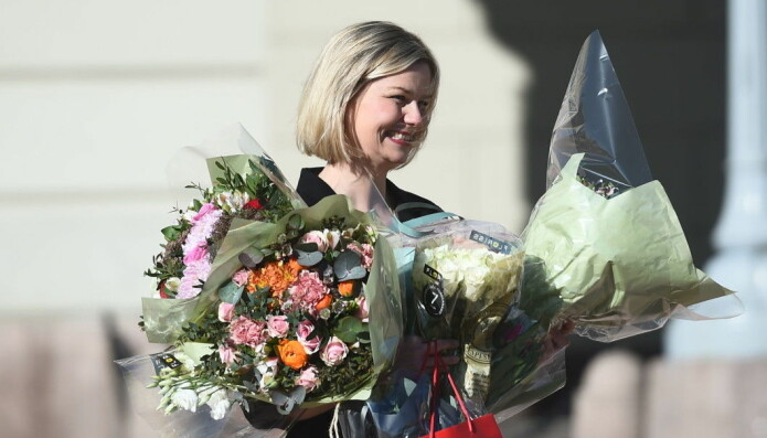Guri Melby (V) ble utnevnt som ny kunnskapsminister den 13. mars.