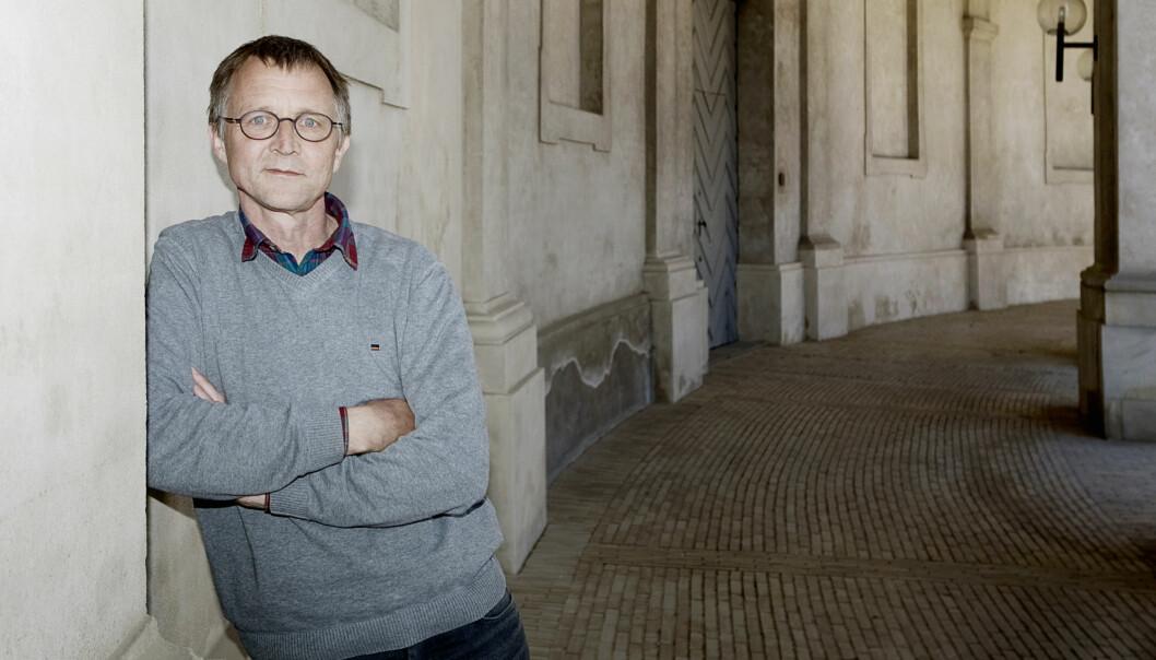 Leder i Danmarks Lærerforening, Anders Bondo Christensen.