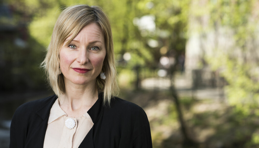 Inga Marte Thorkildsen gjør det hun kan for at de mest sårbare barna skal ivaretas